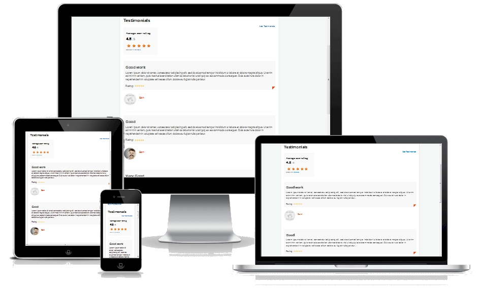 Google Reach Snippet Review extension for Joomla responsive
