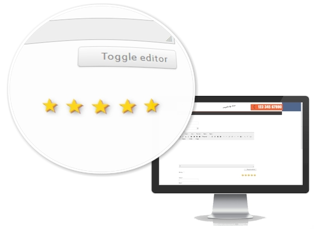 Google Reach Snippet Review extension for Joomla submit